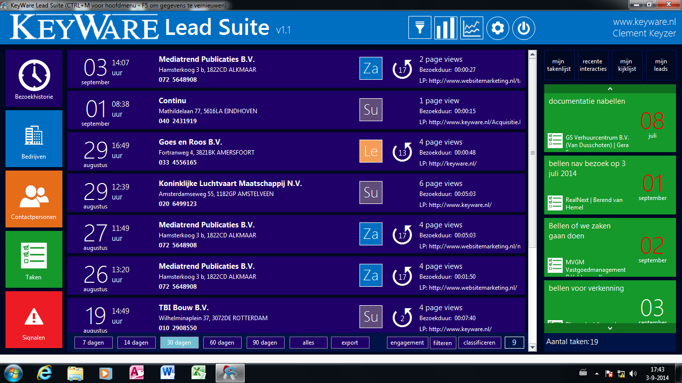 LeadSuite home